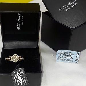 Authentic Levian chocolate diamond ring
